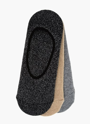 Divarese 3'lü Çorap Siyah